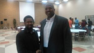 me and the pastor